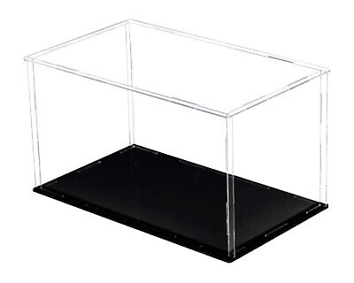 Clear Large Acrylic Case Display Box Plastic Dustproof Toys Figures Collectibles
