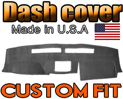 Nissan Frontier Dash Cover (Fits 2005-2006 NISSAN FRONTIER DASH COVER MAT DASHBOARD PAD  /  CHARCOAL GREY )