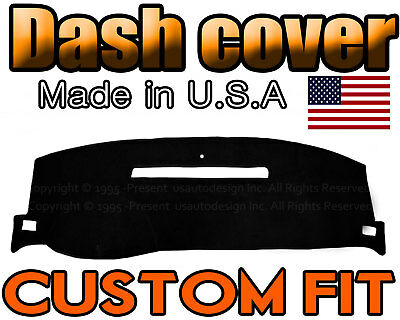 fits 2008-2013 CHEVROLET SILVERADO 1500 2500 3500 DASH COVER MAT / BLACK