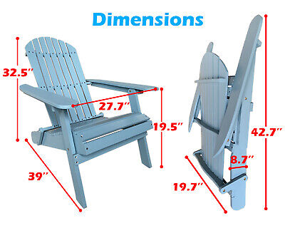 Adirondack Chair Lawn Chair Folding Adirondack Chair Patio Chairs Outdoor Chairs Home & Garden