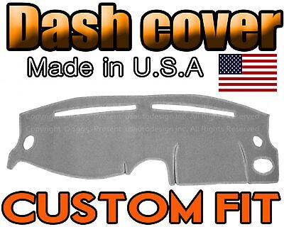 Fits 1995-1999 HYUNDAI ACCENT DASH COVER MAT DASHBOARD PAD / LIGHT GREY