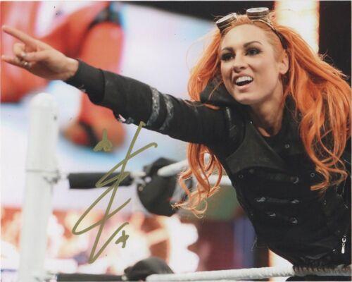 WWE Becky Lynch Autographed Signed 8x10 Photo COA #7