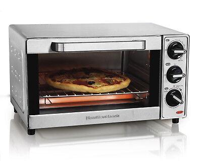 Hamilton Beach 31401 Stainless Steel 4 Slice Toaster Oven Br
