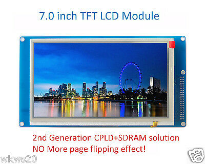 """7"""" 7.0"""" inch TFT LCD module CPLD SDRAM 800x480 arduino DUE MEGA2560 MS070SD"""