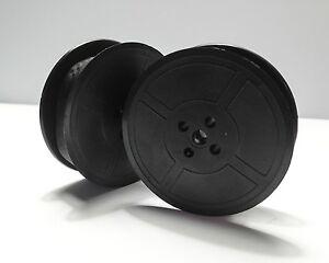 Schreibmaschine Farbband, Doppelspule, schwarz, 13mm x 10m