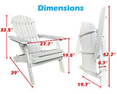 Adirondack Chair Folding Adirondack Chair Lawn Chair Outdoor Chairs Patio Chairs Home & Garden