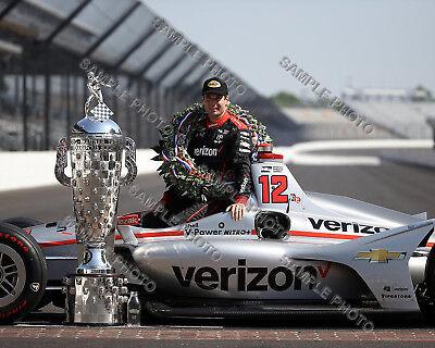 Will Power 2018 Indy 500 Winner Auto Racing 8X10 Photo 3