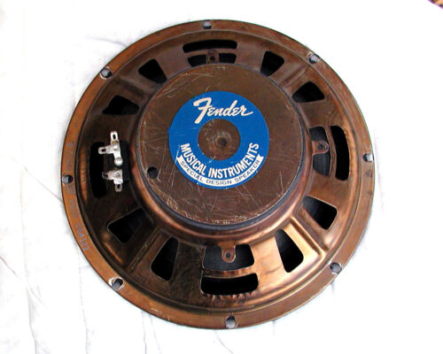 Fender CTS 10 inch 8 Ohm speaker (vintage, very good)