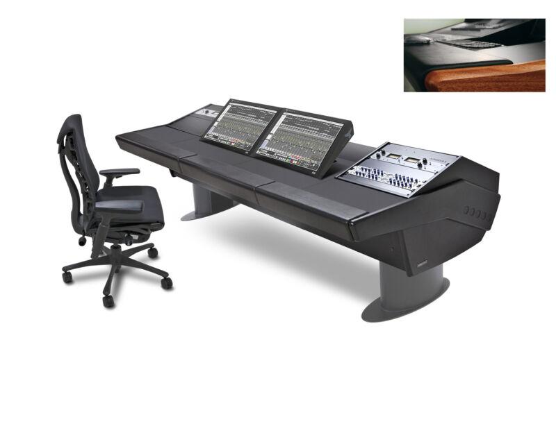 Argosy G-30 Desk Slate Raven Mti G30-mti2-rr9-b-m-g Mahogany Trim & Gray Legs
