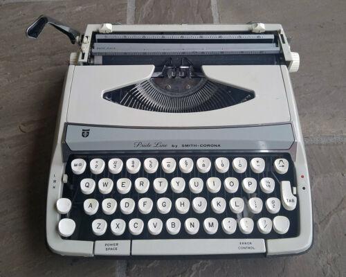 Smith-Corona Pride-Line Manual Typewriter