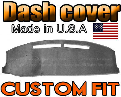 Fits 1991-1994  CHEVROLET CAVALIER  DASH COVER MAT DASHBOARD PAD / CHARCOAL GREY
