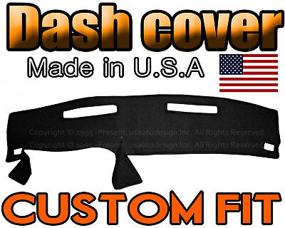 fits 1986-1993  CHEVROLET S10  DASH COVER  DASHBOARD MAT  / BLACK