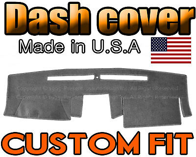Nissan Frontier Dash Cover (Fits 2007-2018 NISSAN  FRONTIER DASH COVER MAT DASHBOARD PAD  / CHARCOAL GREY )