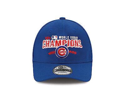 Chicago Cubs New Era 2016 World Series Champions Hat 9TWENTY Adjustable Cap