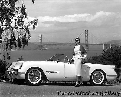 1953 Chevrolet Corvette - Vintage Photo Print