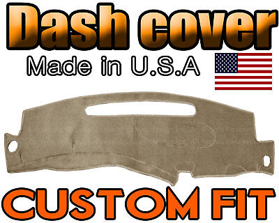fits 1998 1999 2000 2001 2002 2003 2004 2005   CHEVROLET S10 DASH COVER /  BEIGE