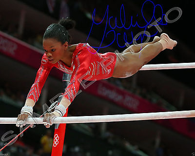 Gabby Douglas Usa Olympic Gymnast Signed Autographed 8X10 Photo Reprint  2
