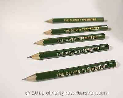 5 Pencils for Oliver Typewriters  | Typewriter Supplies |  Oliver Typewriters