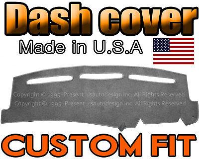 - Fits 2000-2006  GMC  YUKON   DASH COVER MAT DASHBOARD PAD  /  CHARCOAL GREY