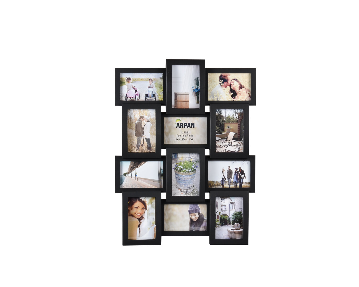 Red multi aperture photo frame FIDM - Official Site