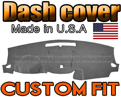 Fits 2013-2017  CHEVROLET TRAVERSE  DASH COVER MAT DASHBOARD PAD / CHARCOAL GREY