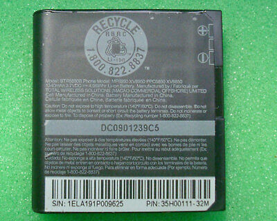 BATTERY HTC BTR6850B Touch Pro Diamond Fuze 1340mAh 3.7V Spare Cell Phone Touch Pro Diamond