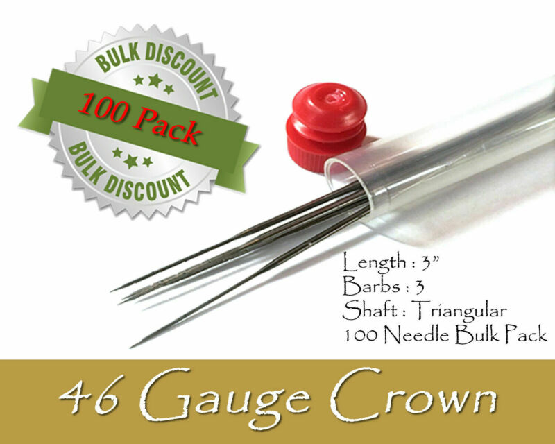 46 Gauge crown felting needles - Wholesale