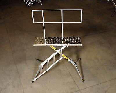 X-deck Safety Work Platform Ladder - Portable Lightweight Scaffold - 4 Step Pro