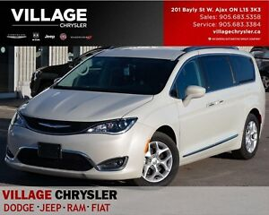 2017 Chrysler Pacifica Touring-L Plus|Nav|Leather|8 Pass|DVD|Saf