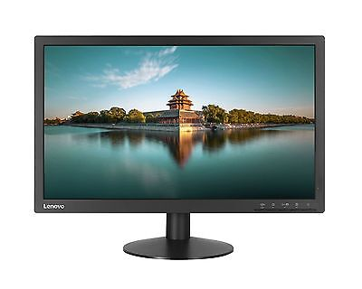 "Lenovo ThinkVision T2224D 21.5"" LED LCD Computer Monitor FHD 1080P VGA DP IPS"