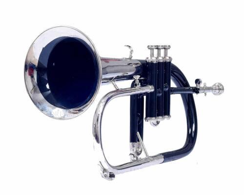 Flugel Horn 3 Valve, Bb (Black+Nickel)