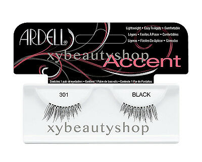 40 Pairs Ardell Natural Accent 301 Fashion Lash Fake Eyelashes Black