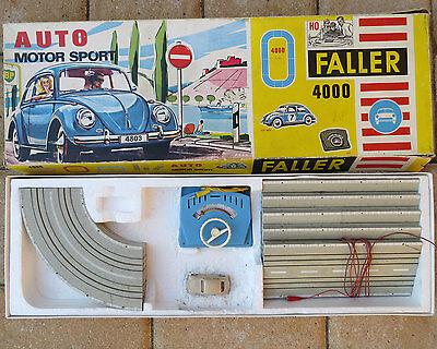 Faller 4000 -- seltene Komplettpackung mit VW Käfer  !