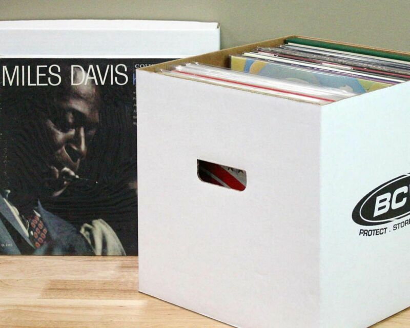 BCW 33 RPM Vinyl Storage Box