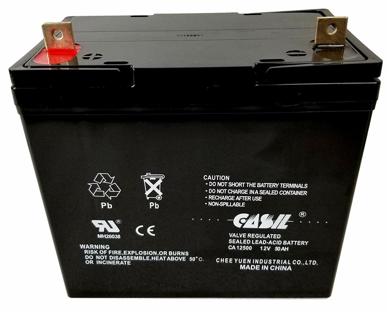 ca12500 12v 50ah sla agm battery