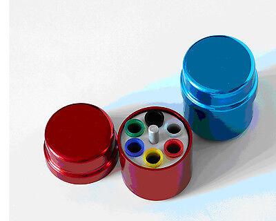 Dental Endo Organizer Container 6 Paper Gutta Percha Aluminum Endodontic