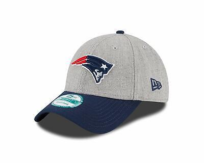 New England Patriots New Era The League Heathered 9FORTY Adjustable - New England Patriots Heather