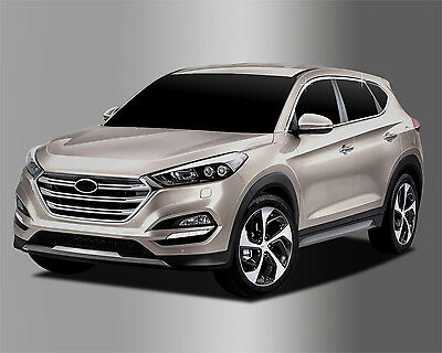 Autocloer Chrome Top Window Line Molding for 2015/August ~ 2018 Hyundai Tucson