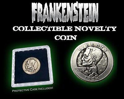Frankenstein Horror Movie Halloween Collectible Novelty Coin + Case - USA](Usa Halloween Movies)