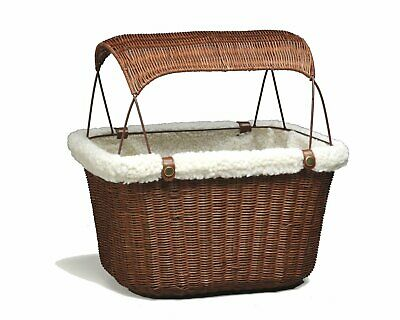 Tagalong Bicycle Basket, Dog Carrier for Bikes, Best for Dogs Up to 13