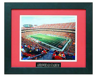 ARROWHEAD STADIUM 8X10 PHOTO FRAMED TO 11X14 ()