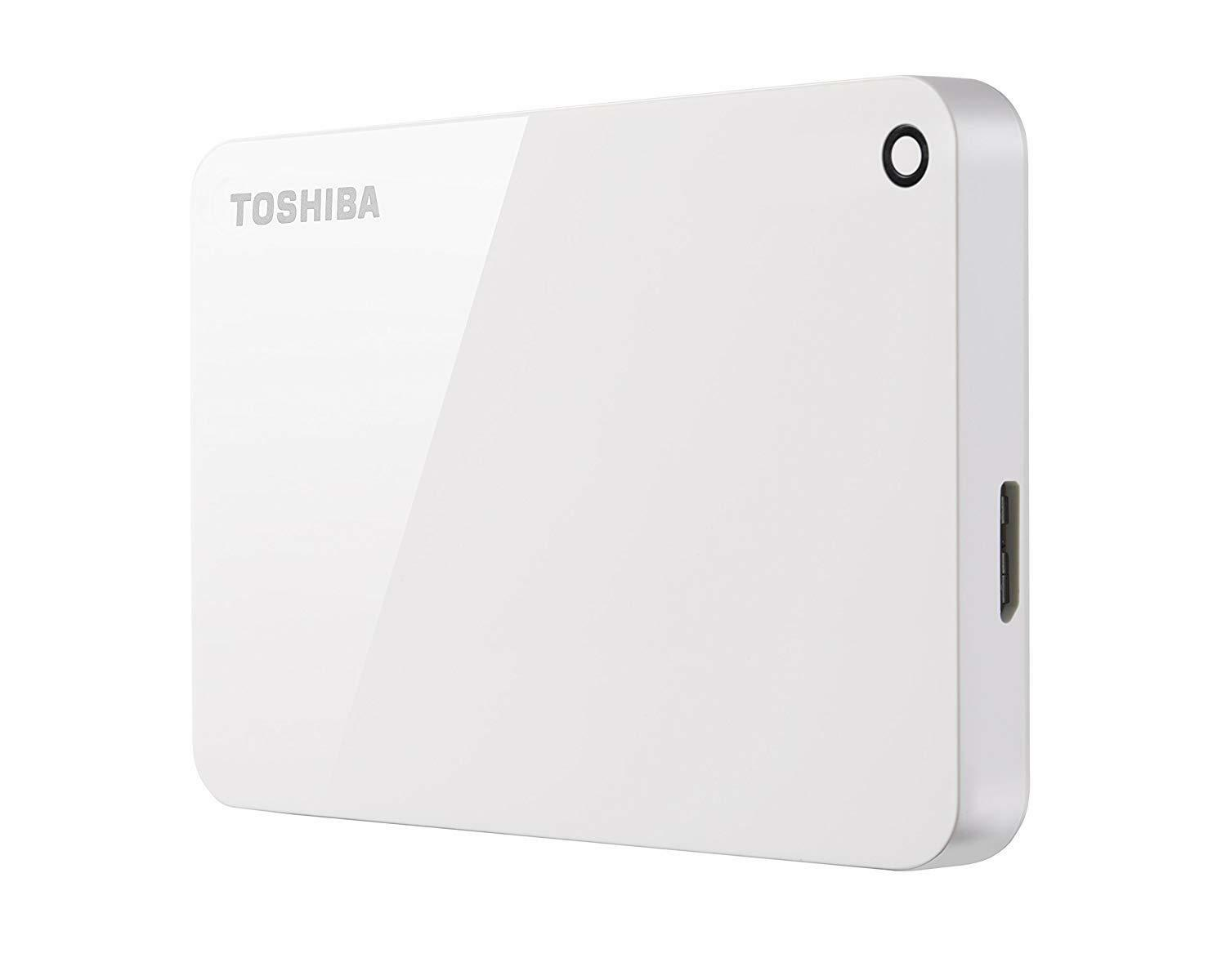 Toshiba Canvio Advance 2TB Portable External Hard Drive USB
