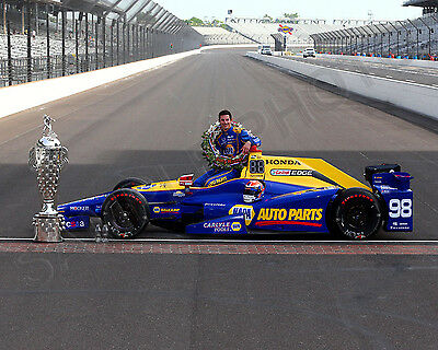 Alexander Rossi 2016 Indianapolis Indy 500 Winner 8X10 Photo  4