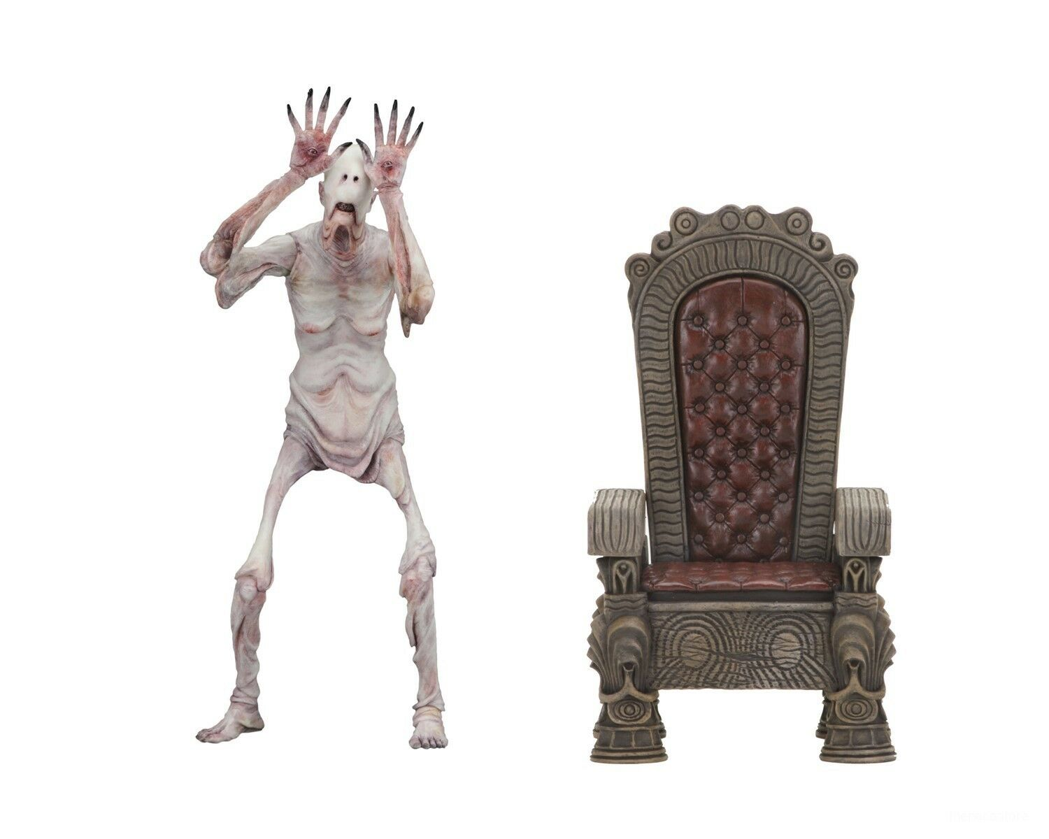 "Guillermo Del Toro - Pan's Labyrinth – 7"" Scale Action Figure – Pale Man - NECA"