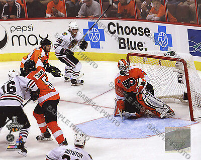 Patrick Kane Blackhawks Game Six 2010 Stanley Cup Finals Winning Goal 8x10 Photo