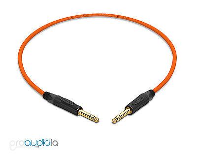 Mogami 2930 Insert Cable IN,out Neutrik 6,3mm TRS   HiFi 1,0 m XLR