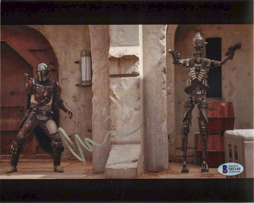 *IG-11 DROID* Taika Waititi Signed 'The Mandalorian' 8x10 Photo EXACT Proof BAS