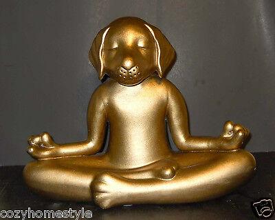 Декоративные фигуры DOG YOGA LOTUS MEDITATION