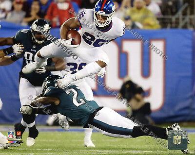 Saquon Barkley New York Giants 2018 Authentic Original 8x10 Action Photo