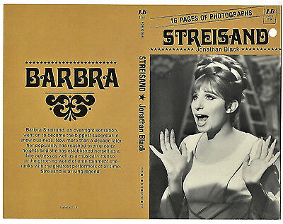 1975 Barbara Streisand Publisher PROOF Book Cover